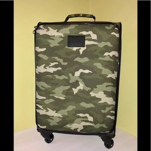 Victoria's Secret Pink Camo Wheelie Luggage